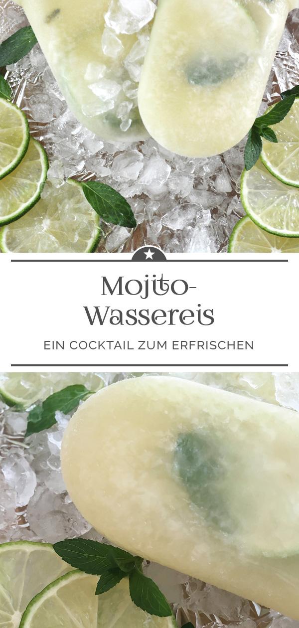 Mojito-Wassereis