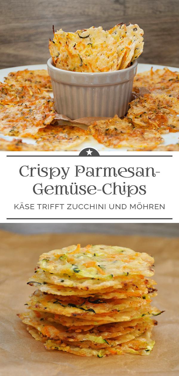 Crispy Parmesan-Gemüse-Chips