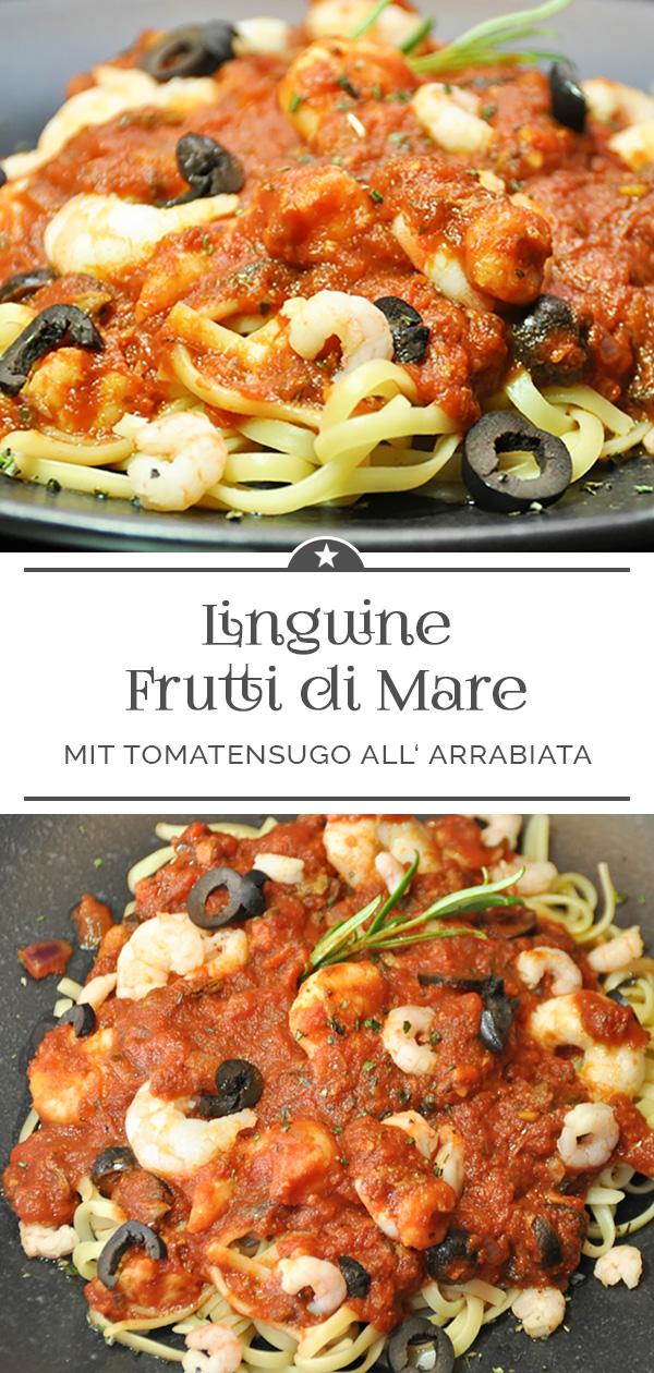 Linguine Frutti di Mare all' arrabiata