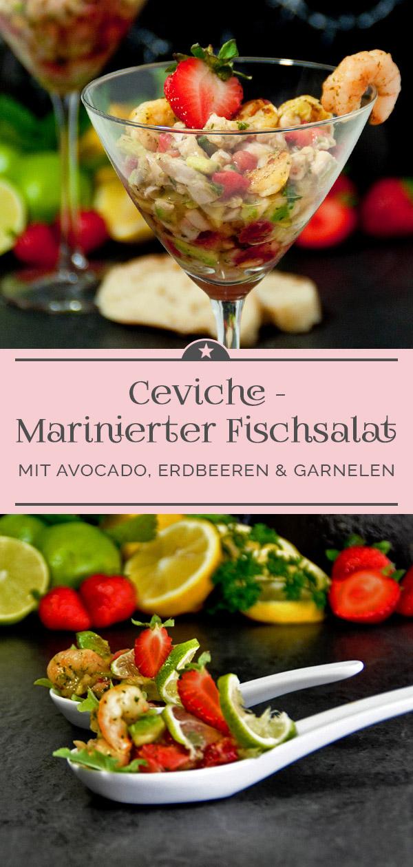 Ceviche - Marinierter Fischsalat
