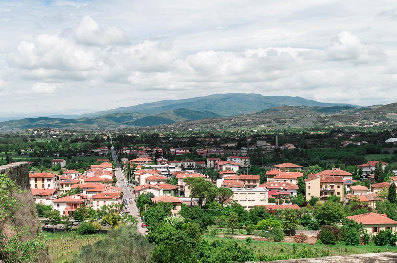 Blick über Arezzo