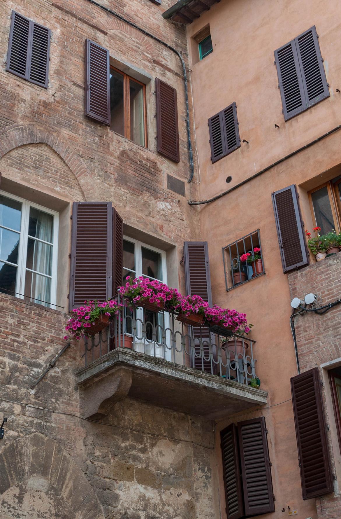 Blumenbalkon Siena