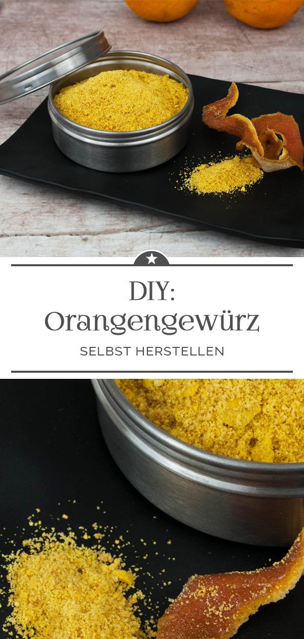 DIY Orangengewürz selbst herstellen