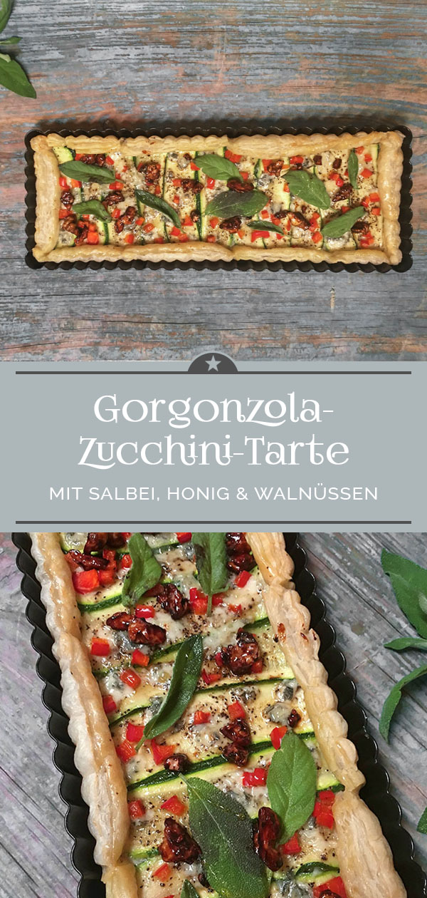 Gorgonzola-Zucchini-Tarte