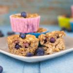 Muffins mit Blaubeeren