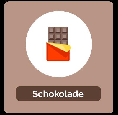 Umrechnung von Schokolade
