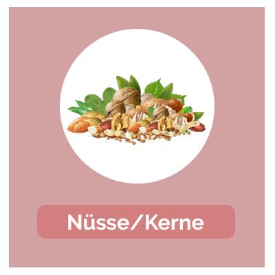 Umrechnung Nüsse und Kerne
