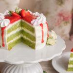 Torte mit Waldmeister