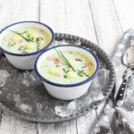 Melonen-Gurken-Suppe