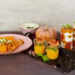 Kürbissuppe, Kürbismus, Kürbis-Dessert