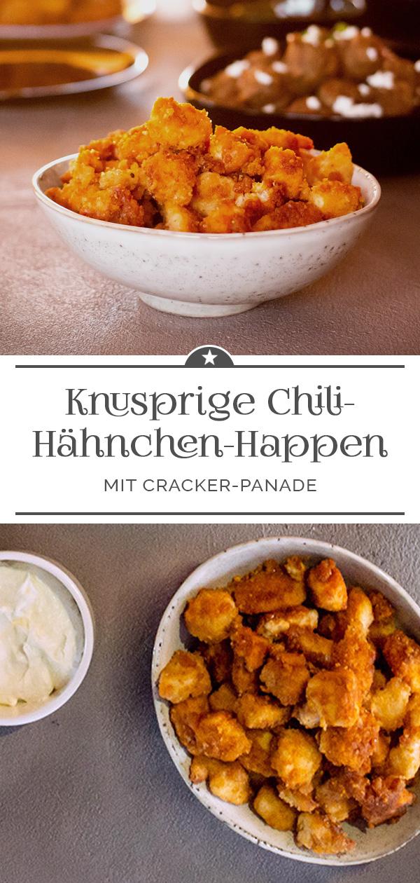 Knusprige Chili-Hähnchen-Happen