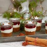 Lebkuchen-Kirsch-Dessert
