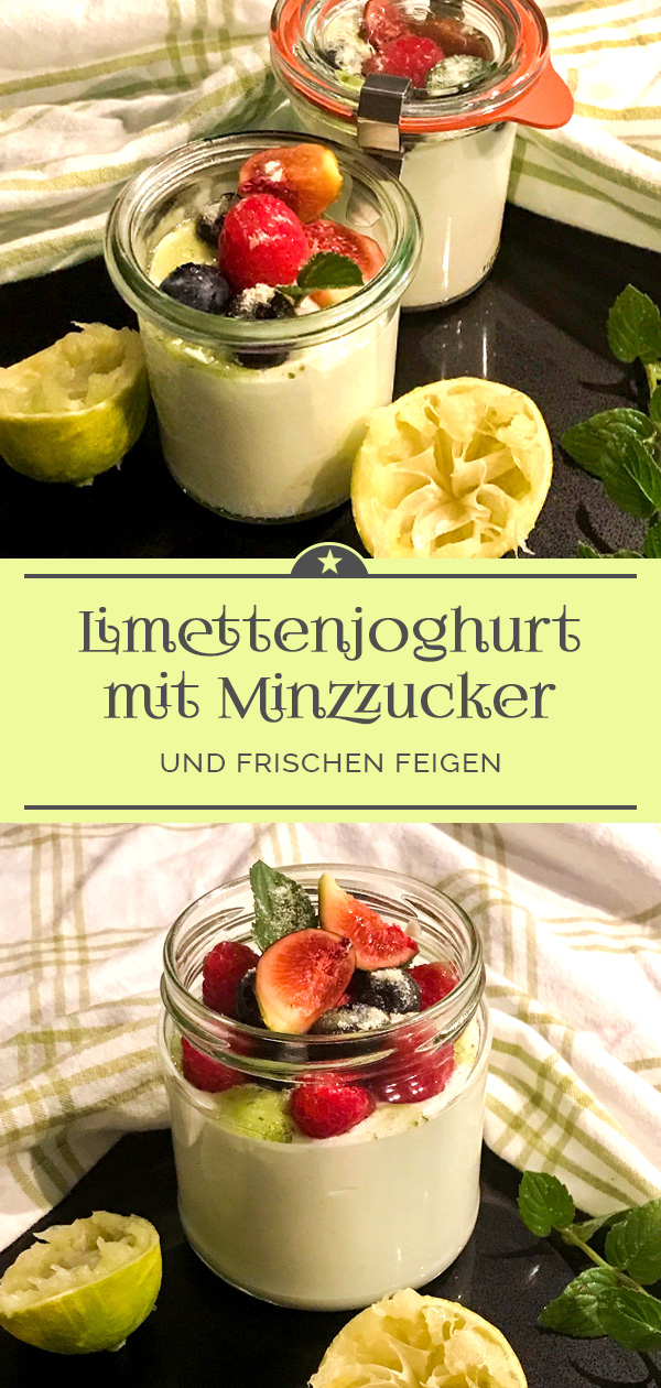 Limettenjoghurt-mit-Minzzucker