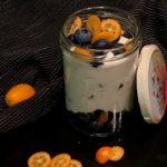 Blaubeere meets Kumquat Overnightoat