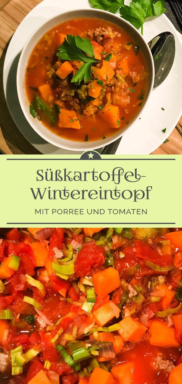 Süßkartoffel-Wintereintopf