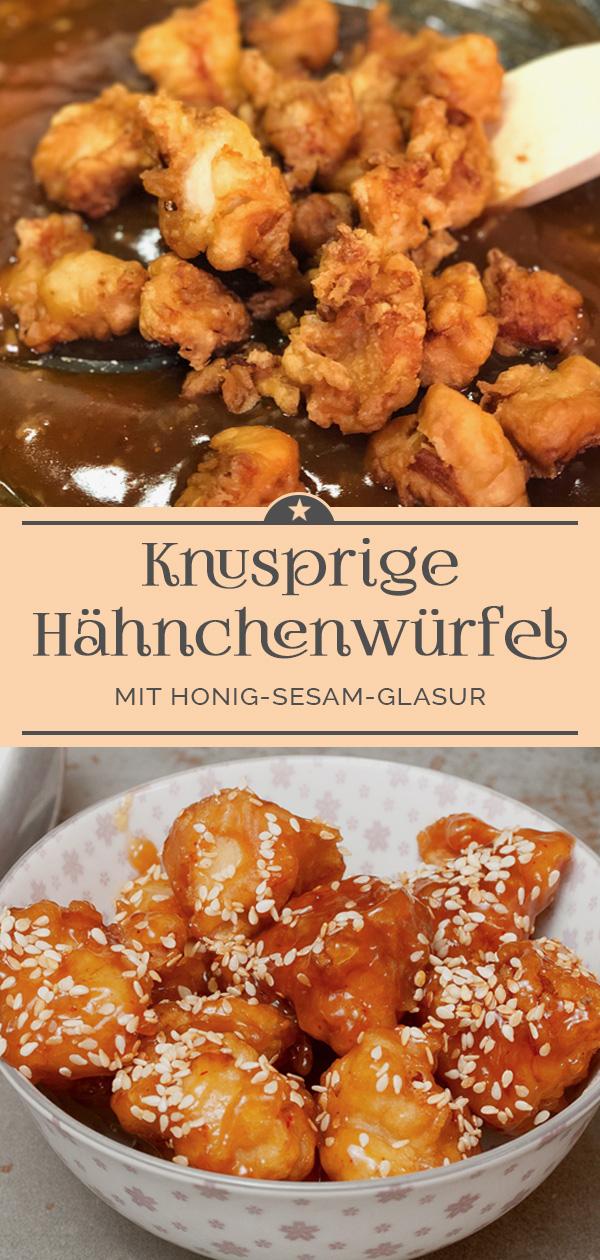 Hähnchen-mit-Honig-Sesam-Glasur