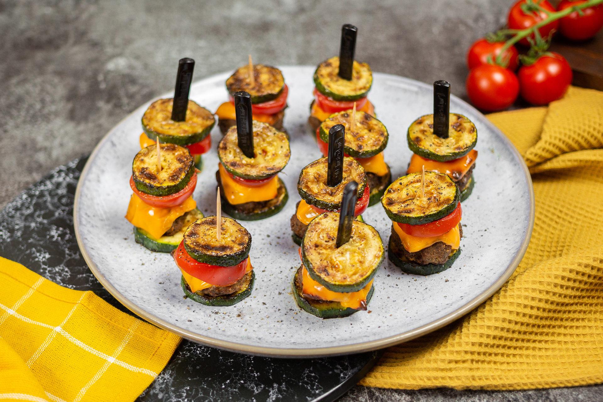 Mini-Zucchini-Burger