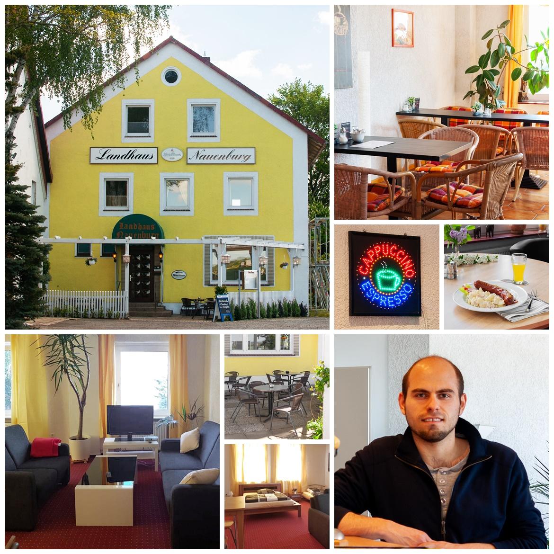 Collage Landhaus Nauenburg