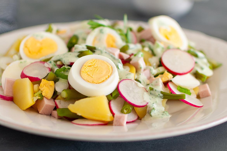 Sommerlicher Kartoffelsalat