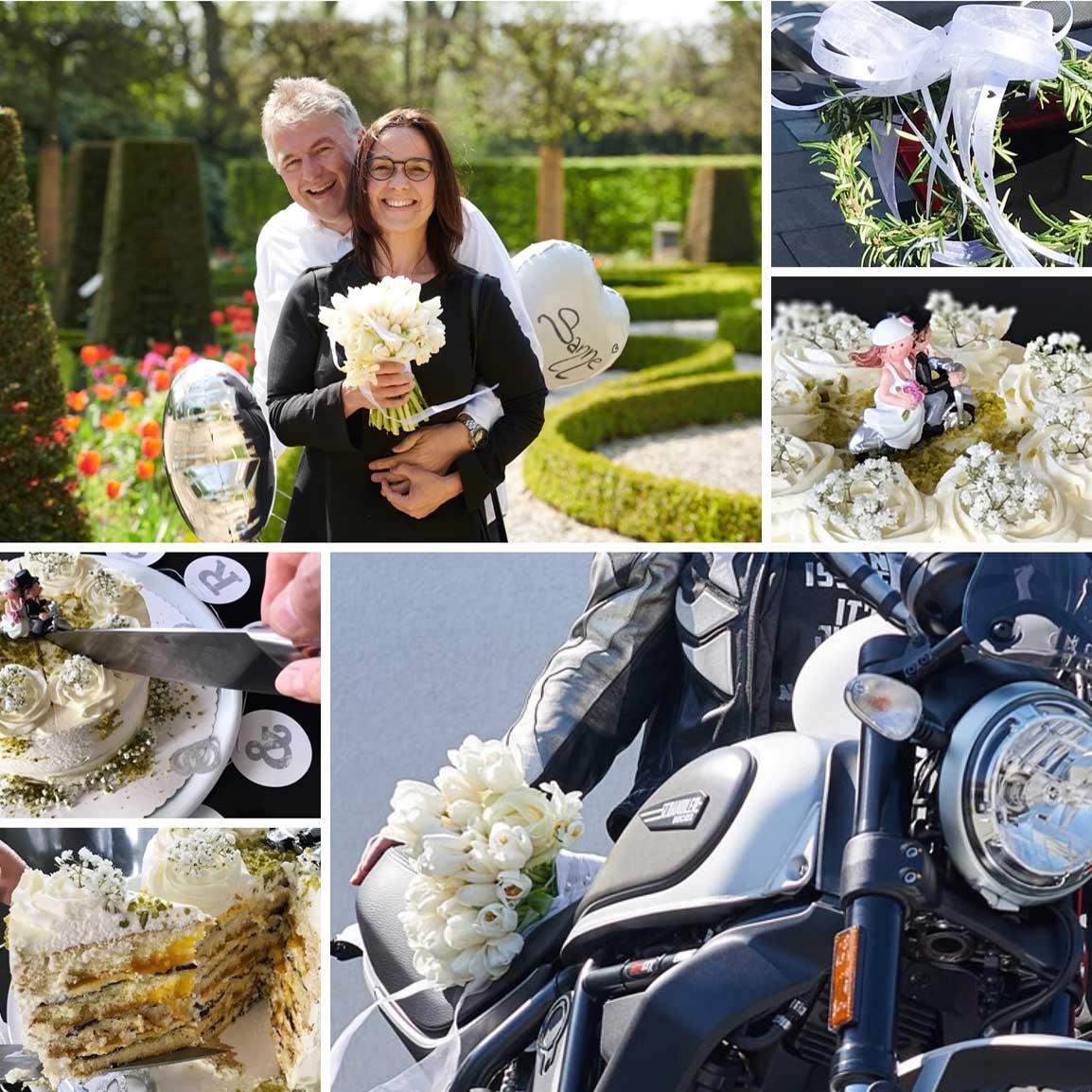 Collage Hochzeit April 2019