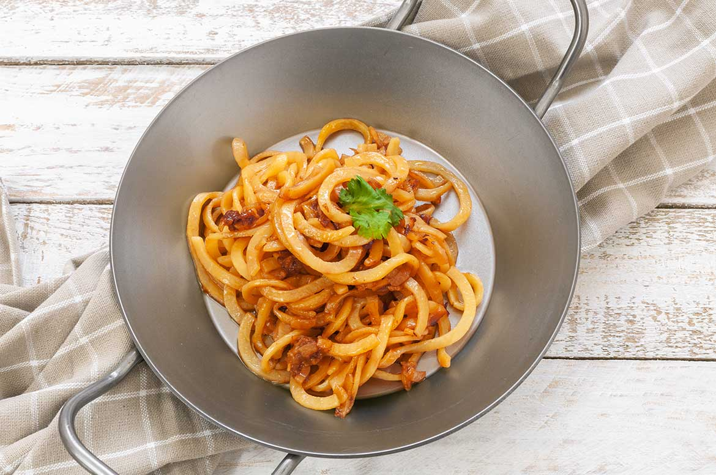 Kartoffel-Spaghetti