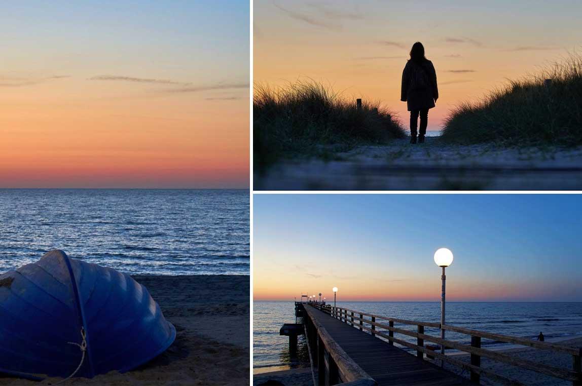 Abendstimmung Ostsee Heiligendamm
