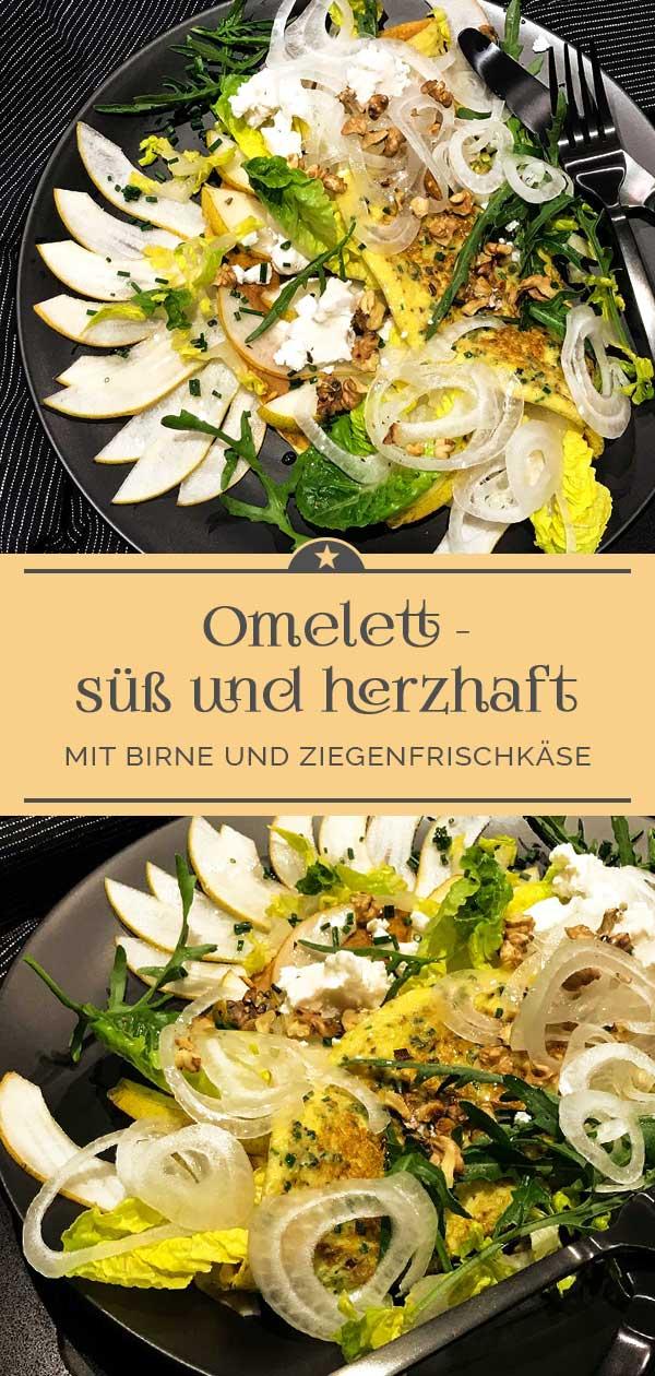 Omelette-mit-Birne-und-Ziegenfrischkaese