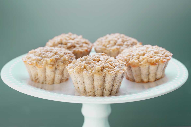 Apfel-Bananen-Muffins