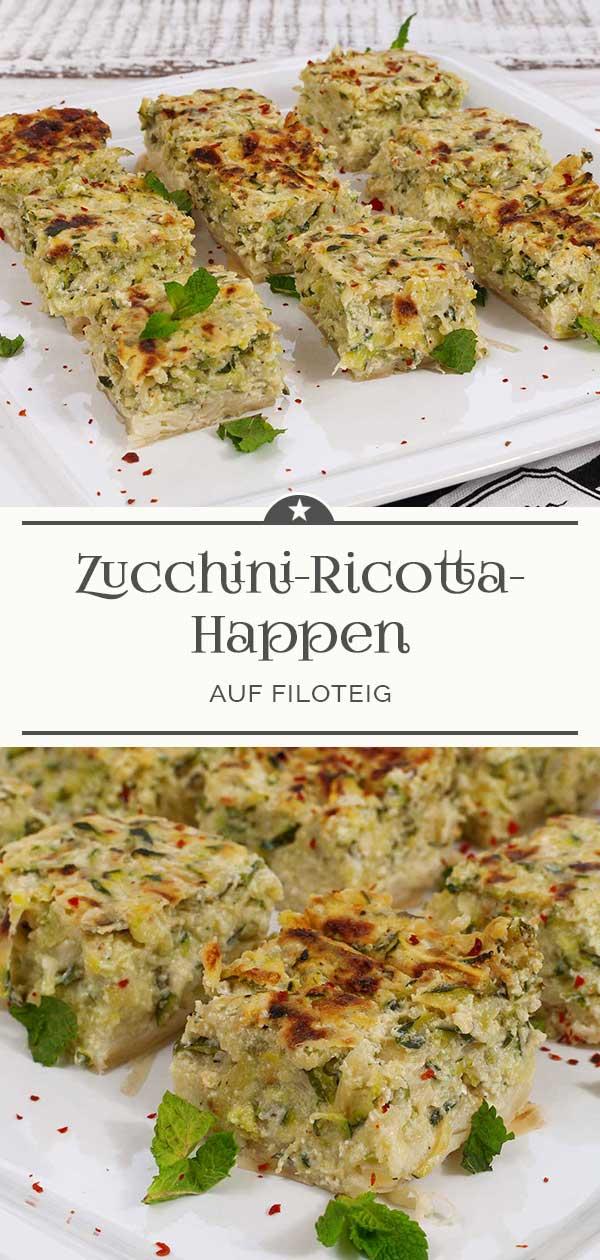 Zucchini-Ricotta-Happen