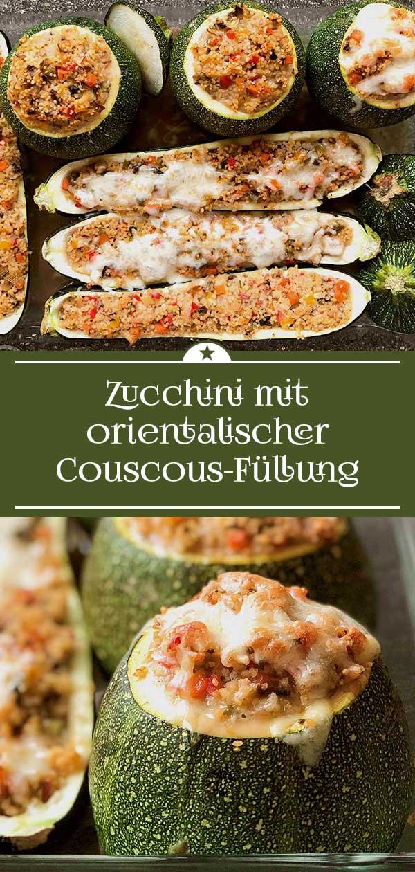 Zucchini-mit-orientalischer-Couscous-Fuellung