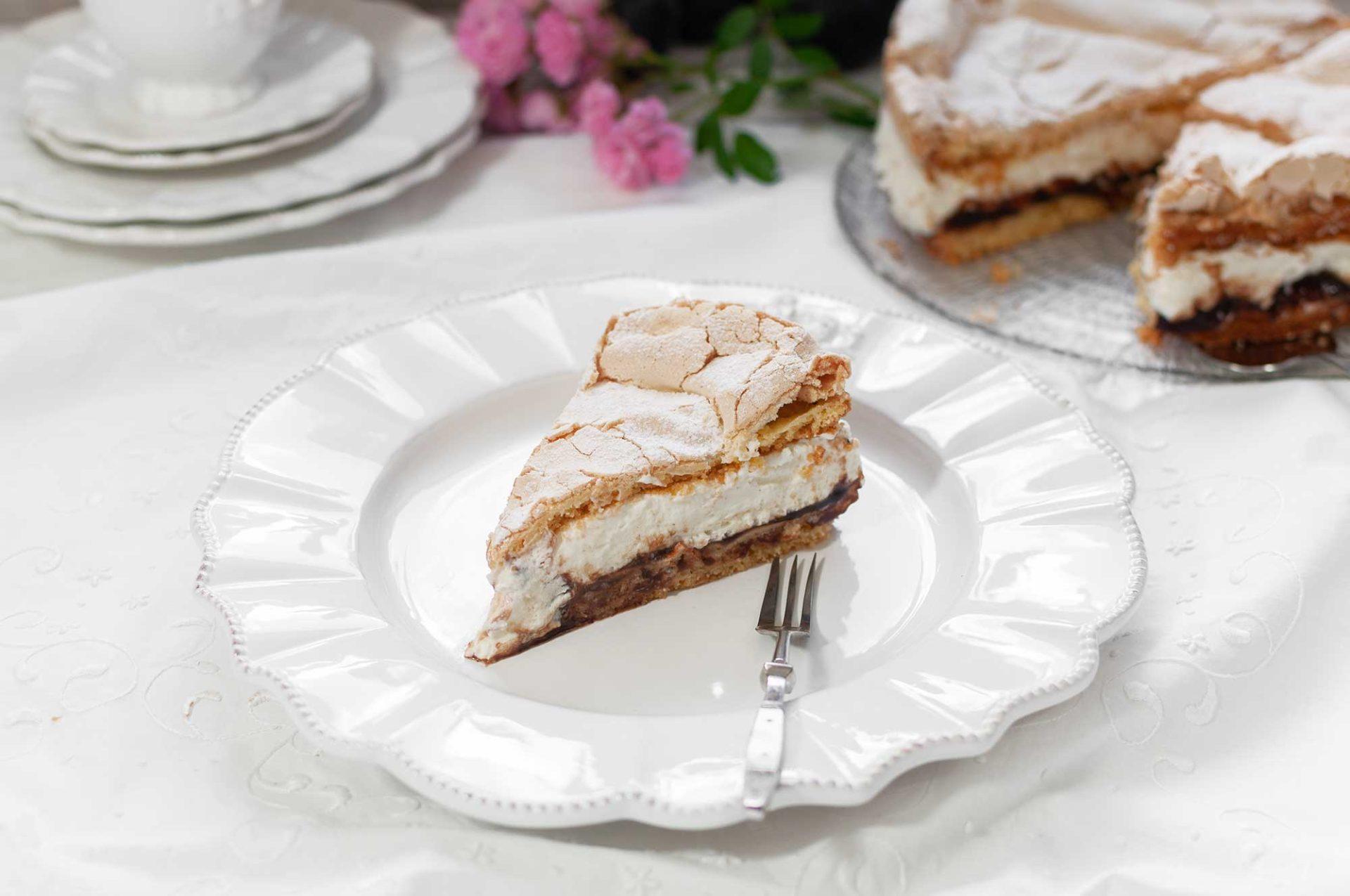 Quark-Baiser-Torte