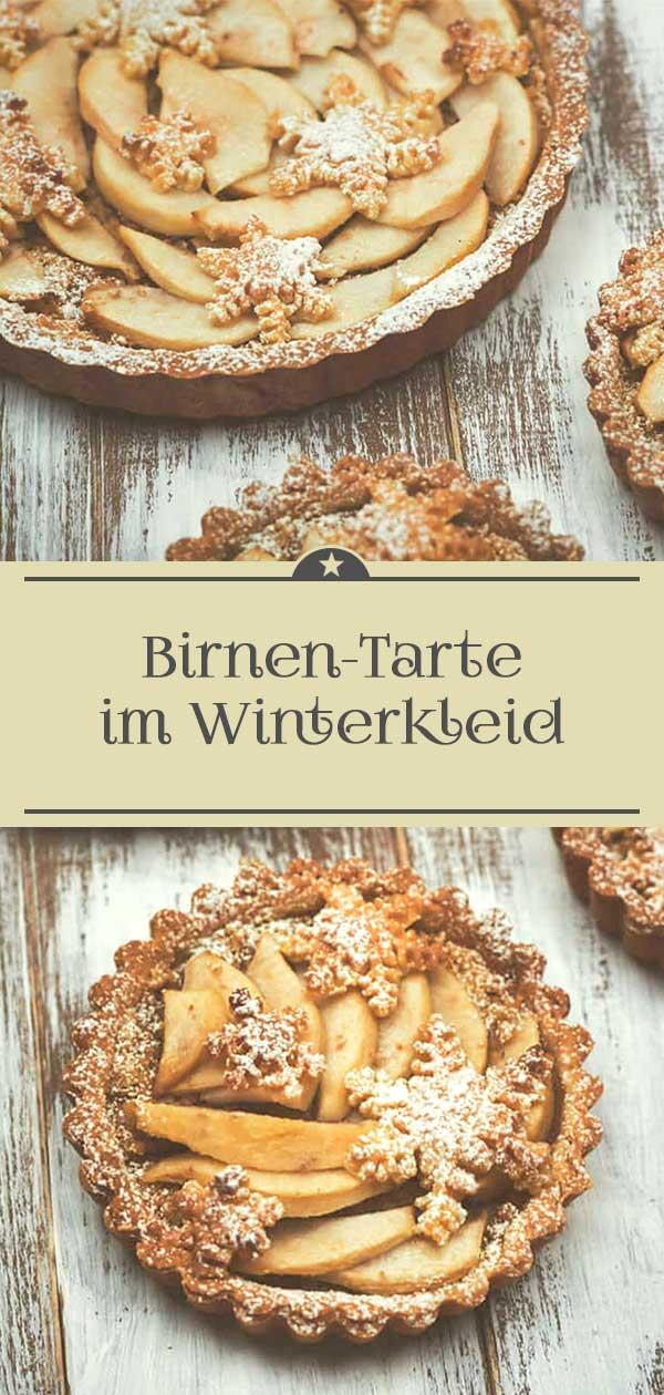 Birnen-Tarte-im-Winterkleid
