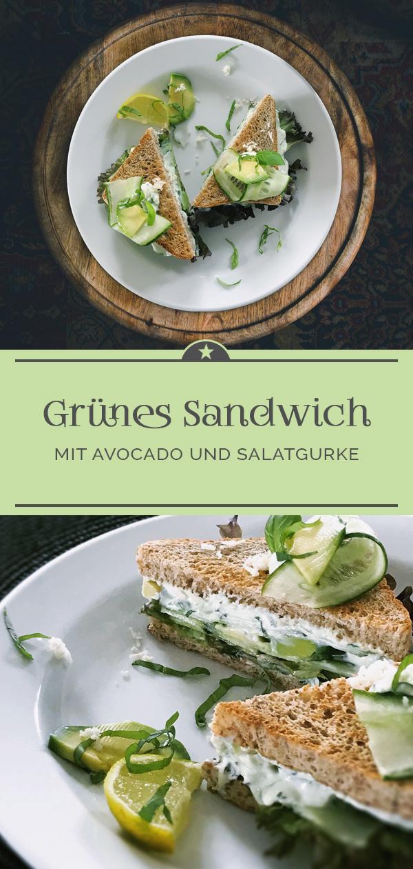 Grünes-Sandwich