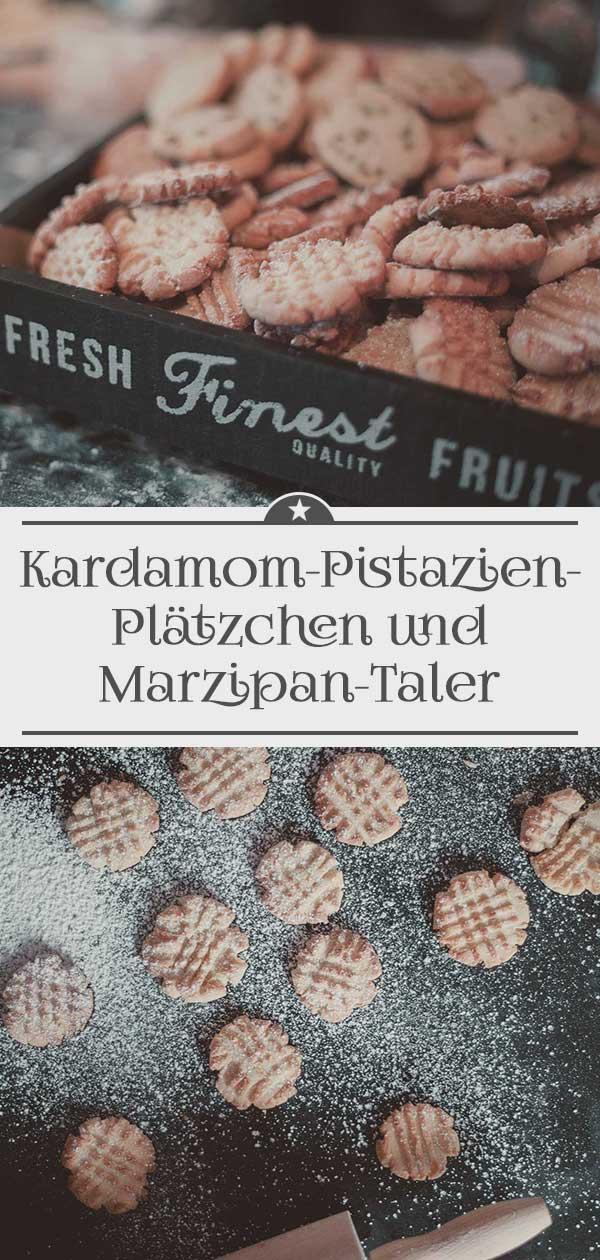 Kardamom-Pistazien-Plaetzchen