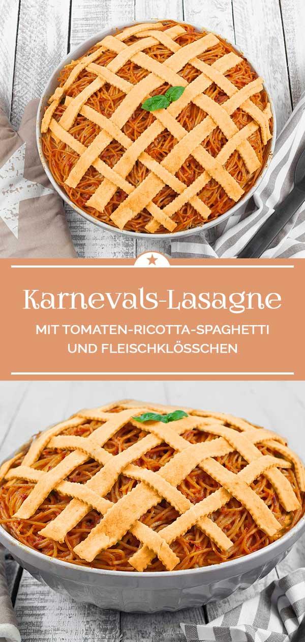 Karnevals-Lasagne