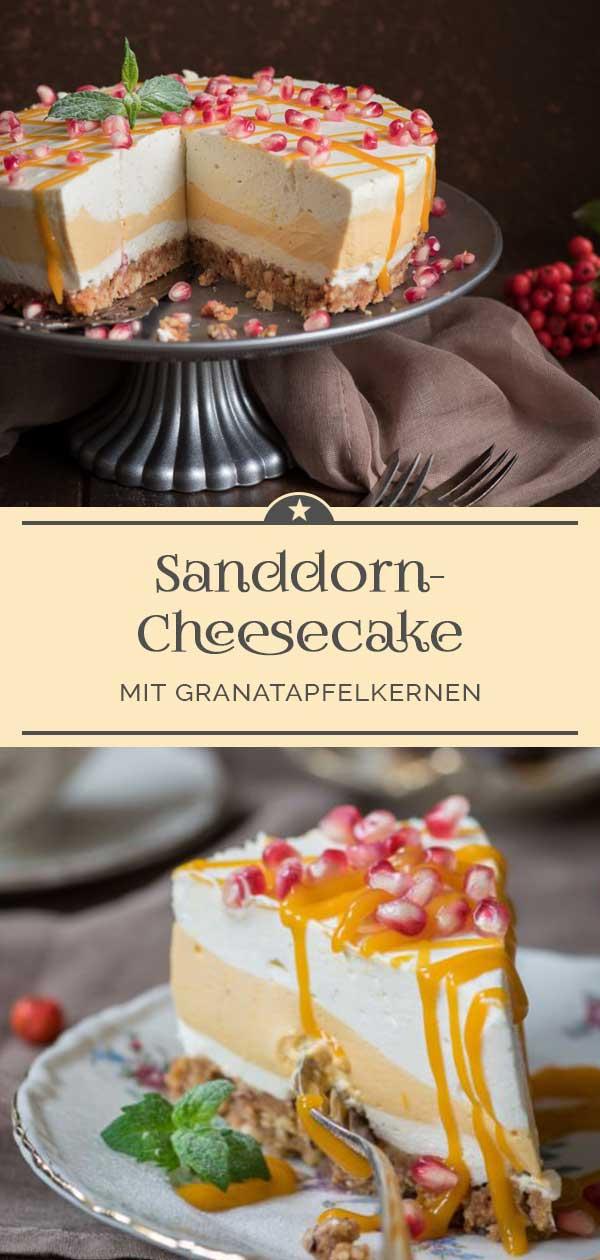 Sanddorn-Cheesecake