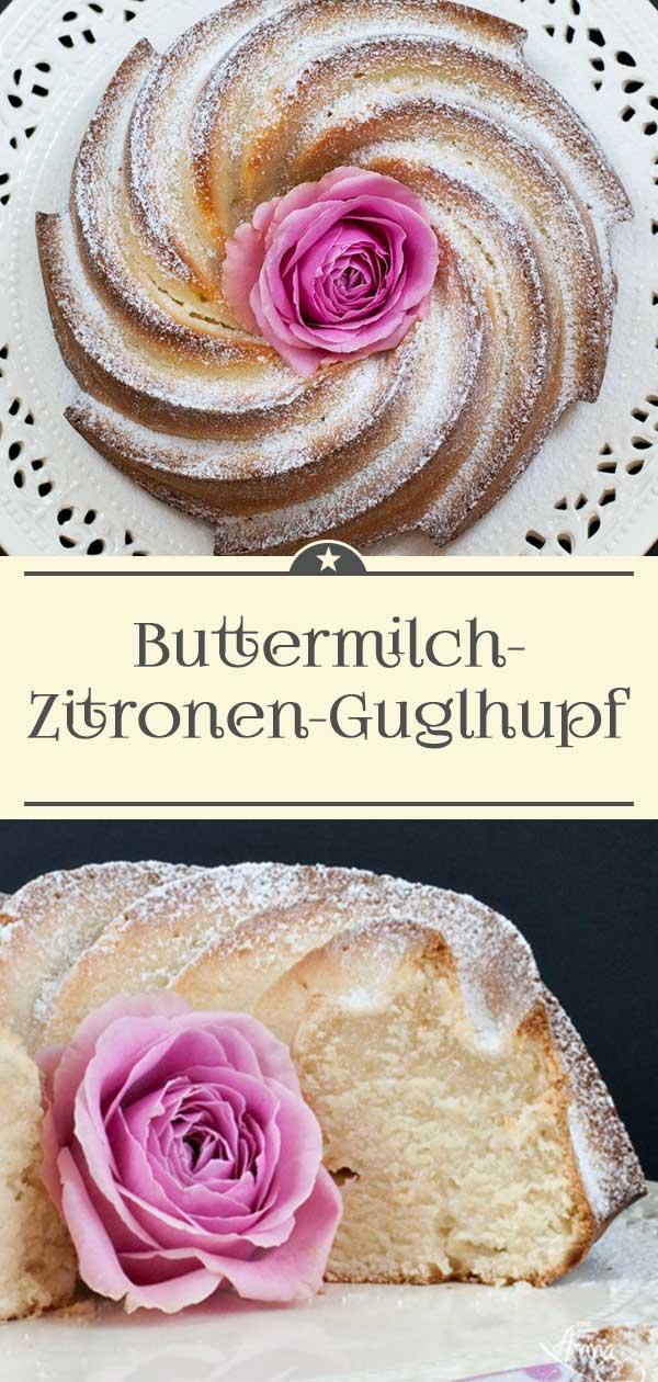 Buttermilch-Zitronen-Guglhupf