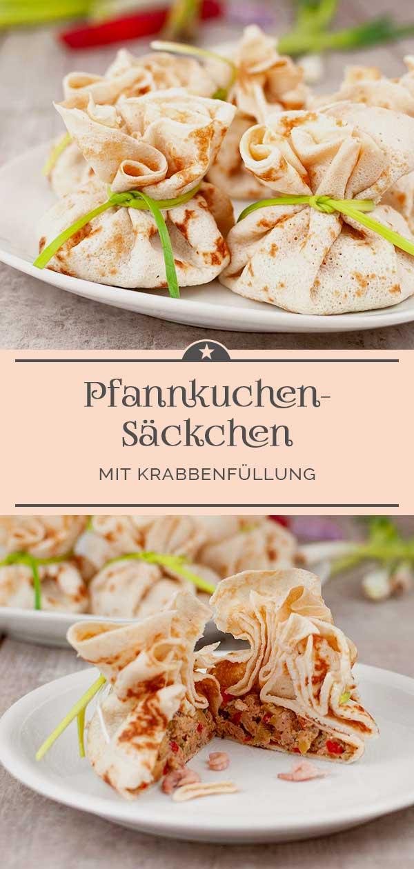 Pfannkuchen-Saeckchen-mit-Krabbenfuellung