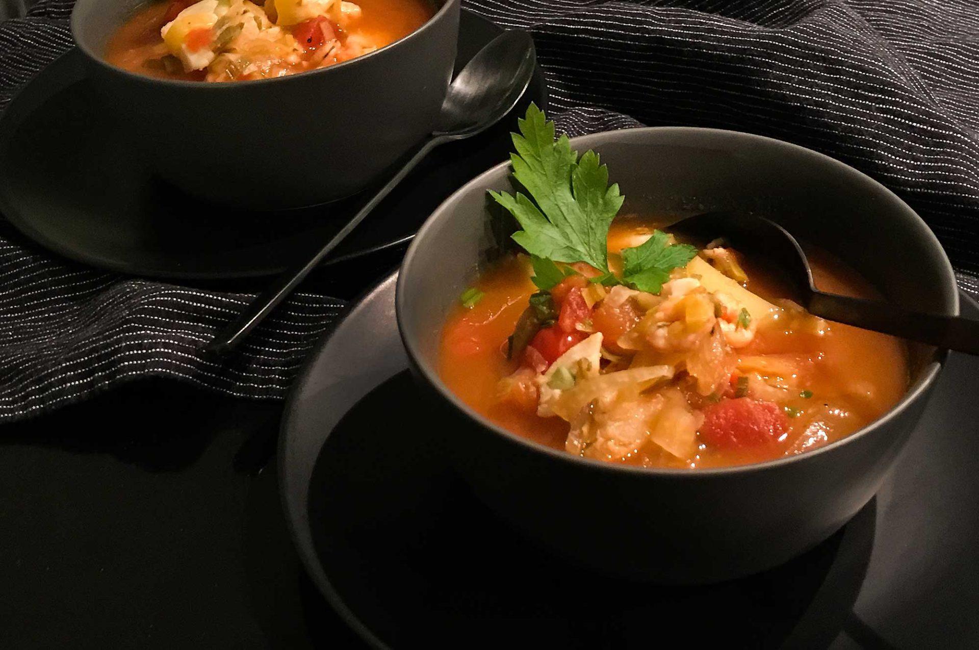Venezianische Fischsuppe