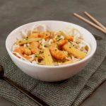 asiatische Garnelen-Suppe
