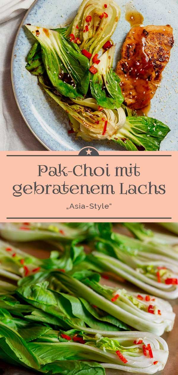 Pak-Choi-mit-Lachs