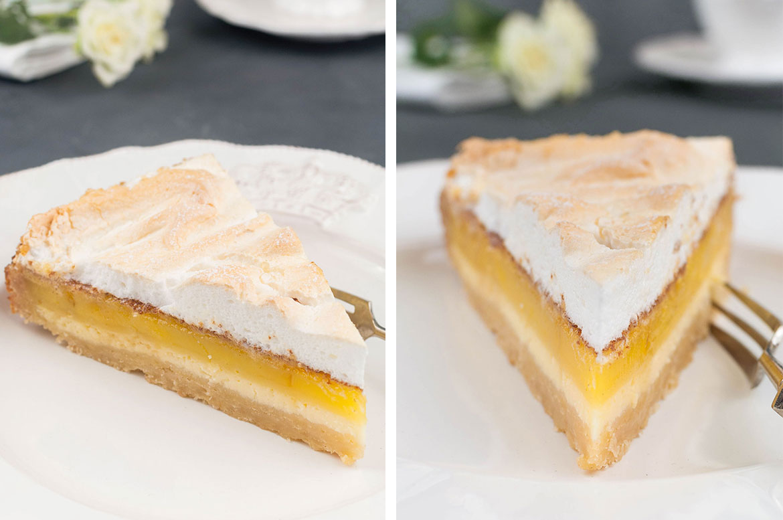 Zitronen-Baiser-Cheesecake