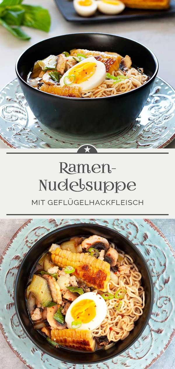 Ramen-Nudelsuppe