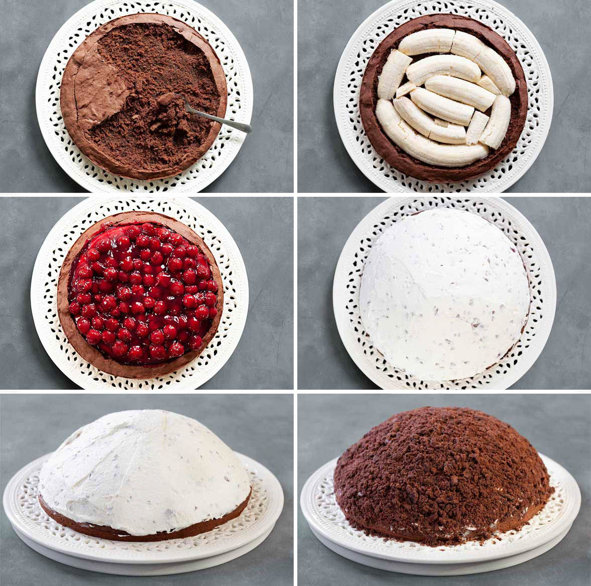Zubereitung Maulwurfkuchen