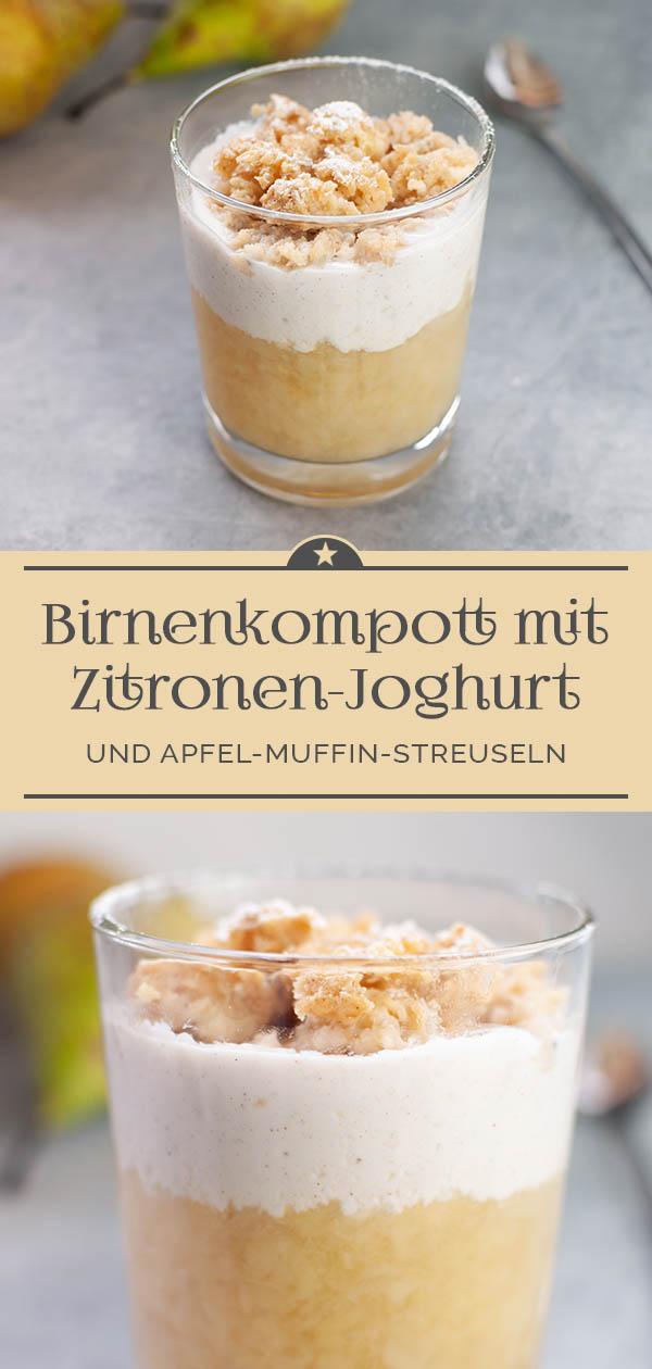 Birnenkompott